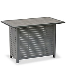 Marlough II  Aluminum Outdoor Bar Table, Created for Macy's