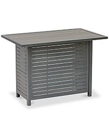 Marlough II  Aluminum Outdoor Bar Table, Created for Macy's