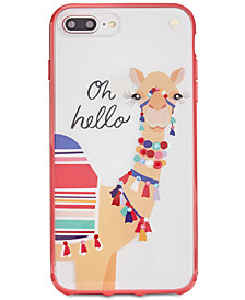 kate spade new york Jeweled Camel iPhone 8 Plus Case