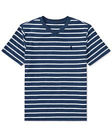 Ralph Lauren V-Neck T-Shirt, Big Boys