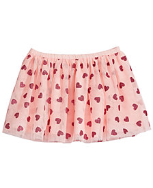 Epic Threads Heart-Print Skirt, Little Girls, Created for Macy's