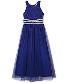Speechless Embellished Maxi Dress, Big Girls