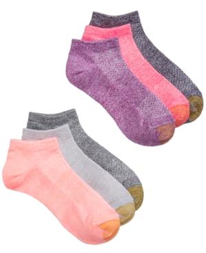 Gold Toe WOMEN'S 6 PACK SPORT ARCH-SUPPORT LINER SOCKS