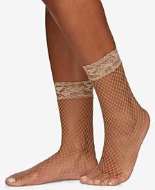 Women's  Fishnet Anklet Socks 5118