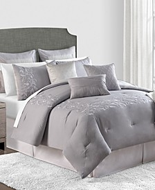 CLOSEOUT! Milano 10-Pc. Comforter Sets