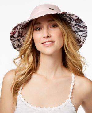 Steve Madden Floral Reversible Bucket Hat 5508514