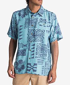 Quiksilver Waterman  Men's Print Shirt