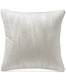"""Hotel Collection Gilded Geo 20"""" Square Decorative Pillow, Created for Macy's"""