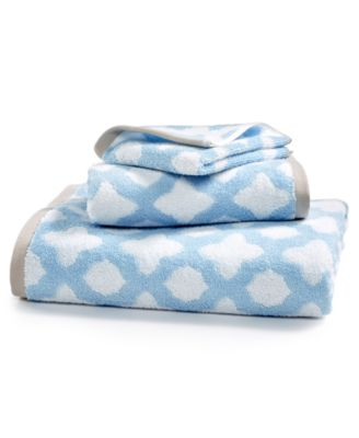 Cotton Tile Spa Fashion Bath Towel, Created for Macy's