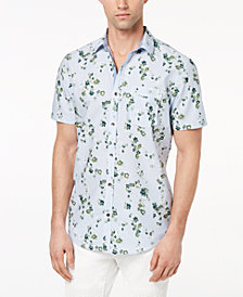 I.N.C. Men's Harry Floral-Print Shirt, Created for Macy's