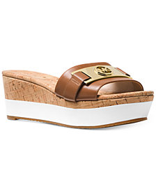 MICHAEL Michael Kors Warren Platform Wedge Sandals