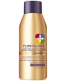 Nano Works Gold Shampoo, 1.7-oz., from PUREBEAUTY Salon & Spa