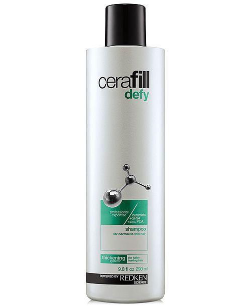 Redken Cerafill Defy Shampoo, 9.8-oz., from PUREBEAUTY Salon & Spa