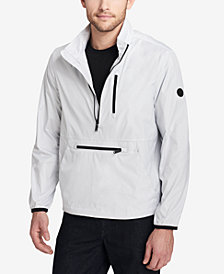 Calvin Klein Men's Packable Half-Zip Windbreaker