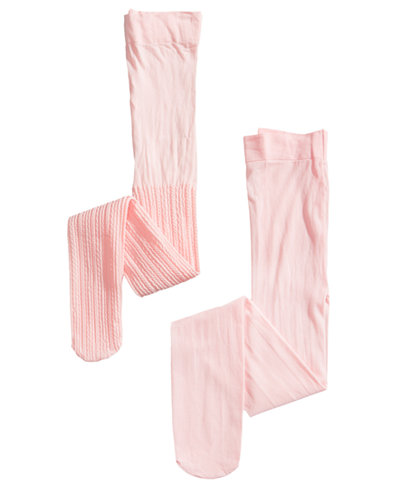Trimfit 2-Pack Textured & Opaque Tights, Toddler, Little & Big Girls