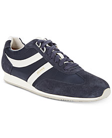 BOSS Men's Orlando Low-Profile Nylon Mix Sneakers