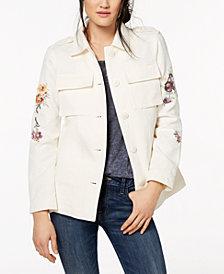 Levi's® Cotton 2-Pocket Embroidered Jacket