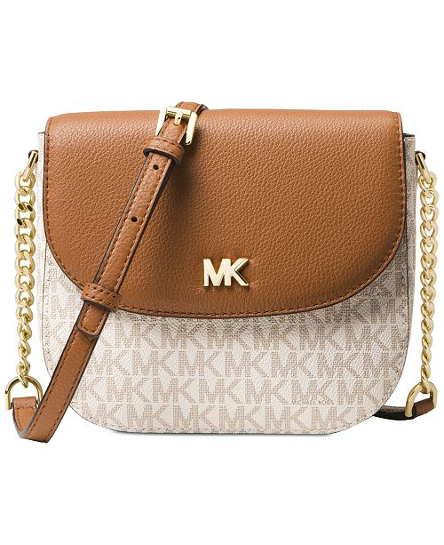 3744b979e9e90a Michael Kors Half Dome Signature Small Crossbody & Reviews ...