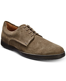 HUGO Men's Flat City Suede Lace-Up Derbys