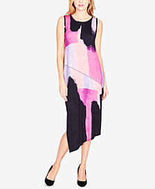 RACHEL Rachel Roy Draped Asymmetrical Dress, Created for Macy's