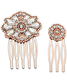 Jewel Badgley Mischka 2-Pc. Set Crystal Hair Combs