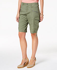 Style & Co Petite Cargo Shorts, Created for Macy's