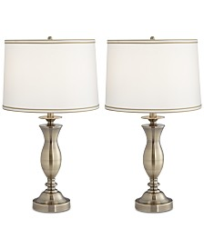 Pacific Coast Set of 2 New England Village Table Lamps, Created for Macy's