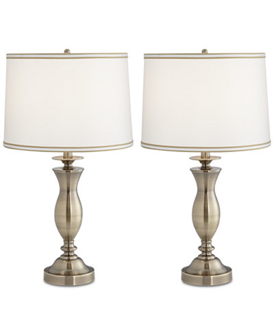 Pacific coast set of 2 new england village table lamps created for macys
