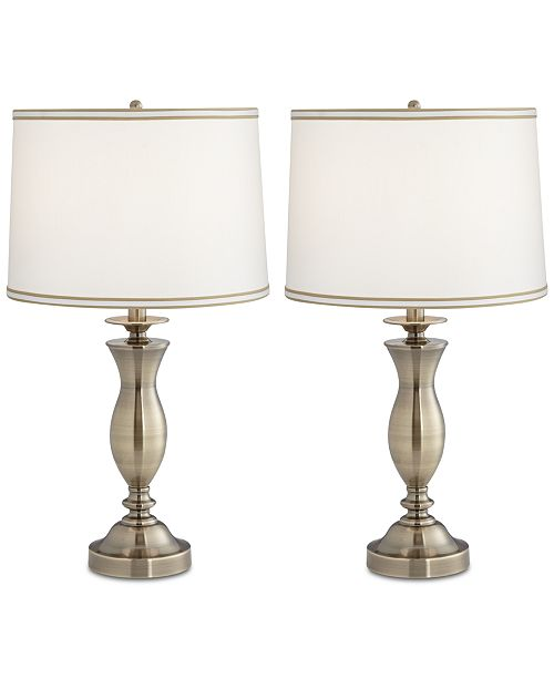 Macys Table Lamps Simple Pacific Coast Set Of 60 New England Village Table Lamps Created For