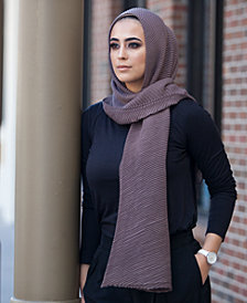 Verona Collection Lightweight Pleated Scarf