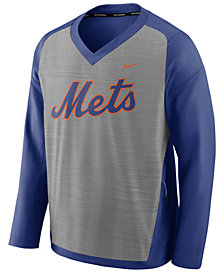 Nike Men's New York Mets Dry Windshirt Top