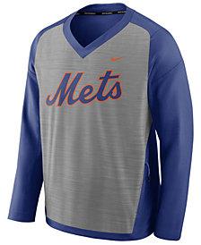 Nike Men's New York Mets Dry Windshirt Top