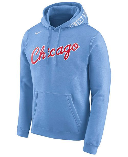 290403341 Nike Men s Chicago Bulls City Club Fleece Hoodie   Reviews - Sports ...