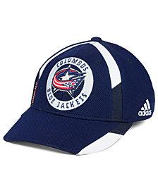 adidas Columbus Blue Jackets Practice Jersey Hook Cap