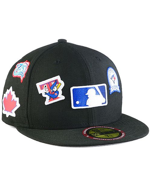detailed look 9c16f 82516 ... New Era Toronto Blue Jays Ultimate Patch Collection All Patches 59FIFTY  Cap ...