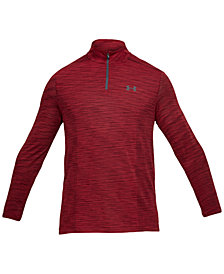 Under Armour Men's Threadborne Seamless Space-Dyed 1/4 Zip Top