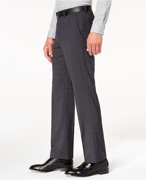 cd7899ef5d746 ... Michael Kors Men s Classic-Fit Airsoft Stretch Solid Suit Pants ...