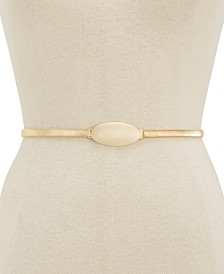 INC Oval Chain Stretch Belt, Created for Macy's
