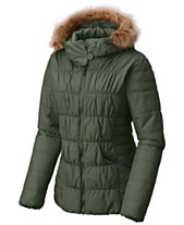 Columbia Sparks Lake Faux-Fur-Trim Thermal Coil Puffer Jacket c00d0fdbb