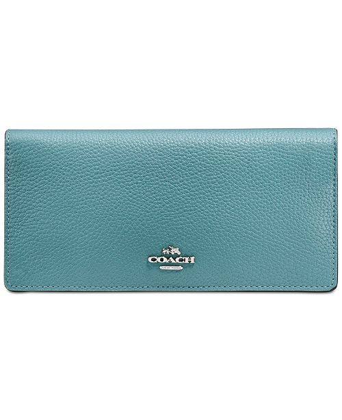 65962b1e770eb COACH Slim Wallet in Colorblock   Reviews - Handbags   Accessories ...