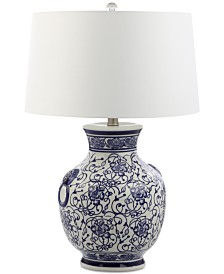 Decorator's Lighting Aranos Ceramic Table Lamp
