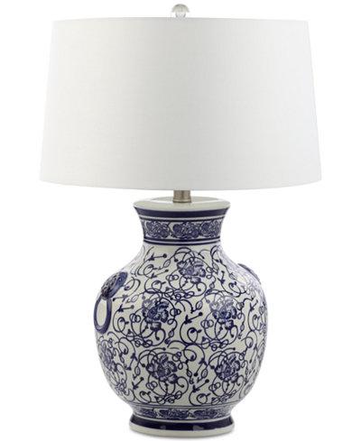 Decorators lighting aranos ceramic table lamp