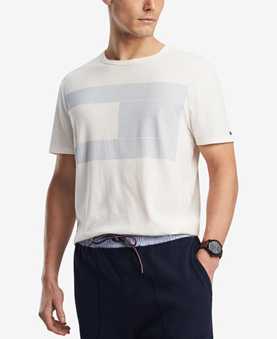 Tommy Hilfiger Men's Hockey Logo T-Shirt, Created for Macy's