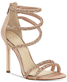 Jessica Simpson Jamalee Gemstone Evening Sandals