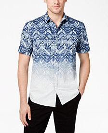American Rag Men's Ombré Print Shirt, Created for Macy's