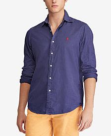 Polo Ralph Lauren Men's Classic Fit Garment Dyed Chino Shirt