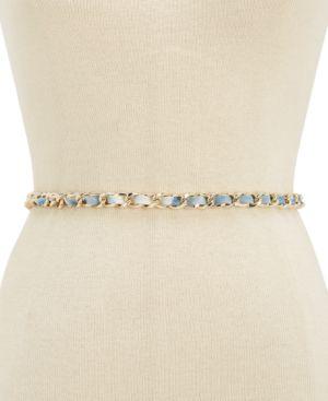 Steve Madden Tie-Dyed Chain Belt 5531078