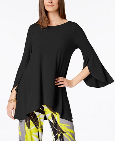 Alfani Tulip-Sleeve Top, Created for Macy's