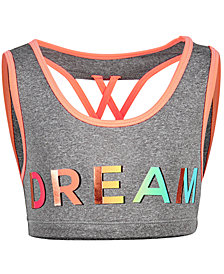 Ideology Dream Sports Bra, Big Girls, Created for Macy's