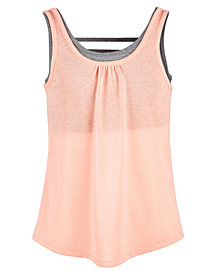 Ideology Strappy Tank Top, Big Girls, Created for Macy's